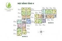 Bán căn hộ Thủ Thiêm Garden Quận 9, 55m2, 1.205 tỷ. 0909 761 547