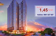 Sở hữu căn hộ dự án Trung tâm Q8, giá cực tốt chỉ 1,3 tỷ/căn, trả trước 435 triệu trong 06 tháng. LH: 0901 827 857