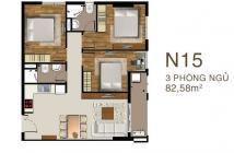 Bán căn hộ Sài Gòn Mia 3 phòng ngủ, căn góc view quận 1, giá 3,7 tỷ/83m2, chiết khấu 5%, trả chậm 2 năm 0% LS