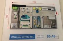 Bán căn hộ Officetel 950tr/căn , TT30%, Lãi 0%
