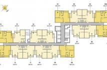 Bán gấp căn hộ 2 phòng ngủ view quận 1 giá 2 tỷ