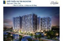 Bán Nhanh Richstar 1PN Hoàn thiện Khu 1 - Tầng 5 – view hướng Bắc- giá 1,7ty