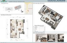 Cần bán căn 60m2 chung cư Intracom Riverside ven sông Hồng giá chỉ 1 tỉ 138 triệu