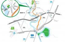 Ưu đãi suất nội bộ - Chỉ 200tr sở hữu căn hộ ven Sông Sài Gòn Quốc lộ 13-Liền kề Q12!!