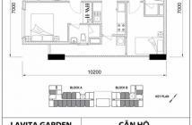 Chuyển nhượng lại căn hộ Lavitar garden - Bình Thái - Thủ Đức. Giá 1.550 tỷ. Tháng 09.2018 giao nhà