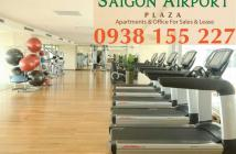 Chính chủ bán CH 3PN Saigon Airport Plaza, view sân bay, nội thất đầy đủ, LH 0938.155.227