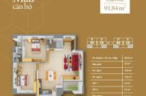 Bán chính chủ chung cư Q. 12, 91m2, nhà mới, view hồ bơi, liền kề cầu Tham Lương, giá rẻ