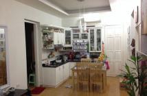 Cần bán căn hộ chung cư 590 CMT8, quận 3, DT 80m2, 2 pn, 1wc, tầng cao, thoáng mát, nhà đẹp, căn góc.
