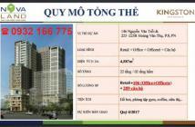 Chính chủ bán CH Kingston Residence 3 PN, view công viên, tầng trung, hotline PKD CĐT 0932.166.775