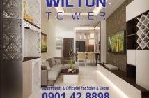 PKD Wilton Tower Bình Thạnh bán căn hộ offictel, 1-3 PN giá gốc, tặng 1 năm phí quản lý, Hotline 0901.428898