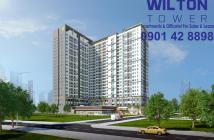 Chính chủ bán CH Wilton Tower Bình Thạnh 2 PN với giá ưu đãi, tầng trung, view thoáng mát, LH 0901.428898