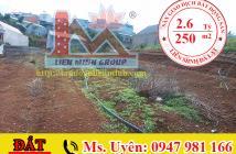 Bán Đất Hẻm Ô Tô Đường Kim Đồng, Phường 6, Đà Lạt Giá 2.6 tỷ. LH: 0947 981 166