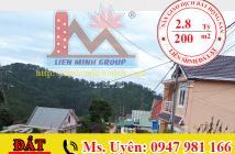 Bán Đất View Thung Lũng Đường Hoàng Hoa Thám, Phường 10, Đà Lạt Giá 2.8 Tỷ. LH: 0947 981 166