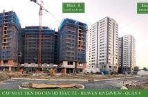 Bán gấp căn Heaven City view Q8 Căn B0X-20 & Căn B1X-20 View ĐN giá 1,33tỷ 55m2(1PN+1ĐN) đã VAT+ CL