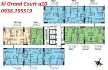 Bán căn hộ Xi Grand Court Q10 - vị trí MT LÝ Thường Kiệt- trả từ 1.8 tỷ/căn nhỏ trở lên-nhận nhà ngay-cho thuê ngay-giao nhà theo ...