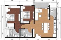 Nhượng căn 68m2 tầng đẹp chênh lệch thấp cho người thiện chí tại dự án căn hộ Gò Vấp