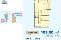 Cần ra gấp căn hộ Sunrise City View 109m2, 3PN, chỉ 3,8 tỷ. LH trực tiếp 0909802822
