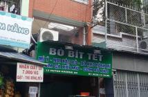 Nhà mặt tiền kinh doanh gần chợ Gò Vấp,đang cho thuê 20tr/tháng,2 lầu DT sử dụng 182m2