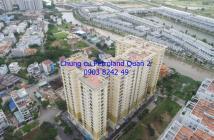 Bán căn hộ chung cư Petroland Quận 2: 82m2, 2PN, 2WC, căn góc, hướng TB, sổ hồng. Giá bán 1,7 tỷ.