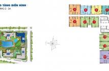 Bán gấp căn hộ 2PN, 70m2 tầng thấp view hồ bơi và công viên nội khu giá chỉ 2,27 tỷ LH 0933383009