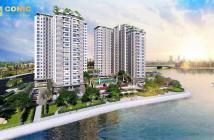 Hàng hiếm căn hộ 3 mặt view sông - full nội thất - lợi nhuận cao - chỉ 1,1 tỷ/căn ngay làng đại học