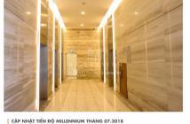 Mua ngay kẻo lỡ, căn hộ Millennium 1PN 45m2, giá 2.38 tỷ, có ban công