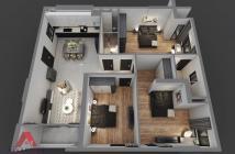 Bán căn hộ Riverside Phú Mỹ Q7, 3PN, 2WC, 89 m2 giá 2tỷ7 full nội thất - 0938.609.460 Ms. Thu