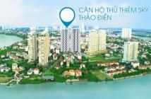 Cho thuê căn hộ Thủ Thiêm Sky A12.01 56m2 view trung tâm Q.2, Full nội thất cao cấp