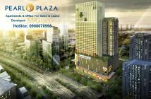 PKD CĐT bán CH Pearl Plaza 92 m2, căn góc, tầng cao, view sông Sài Gòn tuyệt đẹp, Hotline 0908078995