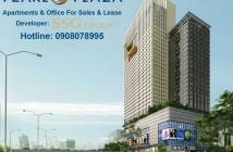 Bán CH 2PN Pearl Plaza gần Tân Cảng, tầng cao, view sông, giá tốt - Hotline CĐT 0908 078 995