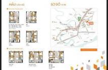 Bán căn hộ 9 View ngã 4 Bình Thái, 1.4tỷ/căn 2 PN tặng phí bảo trì. LH: 0908207092 giao hoàn thiện