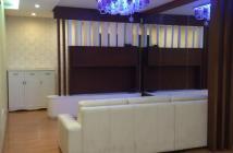 Cần cho thuê căn hộ 203 Nguyễn Trãi, Q.1, view thoáng mát, 95m2, 3pn, 15tr/th, đầy đủ nội thất, khu an ninh, gần các trường học