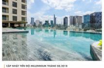 Cần tiền bán căn hộ Millennium 3pn, 98m2, 6.6 tỷ, block A, view sông, Q1. LH 0909182993