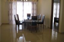 Căn hộ River Garden bán tại block B, lầu 17, 156m2, 4 phòng ngủ, view sông