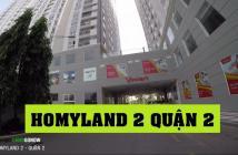 Bán căn hộ Homyland 2: 60m2, 2PN, 1WC, đầy đủ nội thất, giá 1,7 tỷ. LH 0903824249