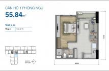 Cần tiền bán gấp căn hộ Botanica Premier 1PN, 1WC tiện ích đẳng cấp, giá chỉ 2.4 tỷ
