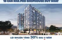 Mở bán đợt cuối 10 căn shophouse và 10 căn hộ khu vực Sân Bay