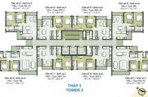 Chính chủ bán căn hộ hoàn thiện tháp T3 Dự án Palm Heights, Quận 2, Sài Gòn diện tích 80m2 giá 3,42 Tỷ