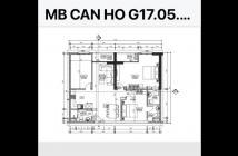 Chính chủ cần bán căn hộ G17.05 dự án Grand Riverside mặt tiền bến vân đồn, 98m2, 3Pn, 3WC