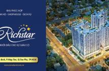 Bán nhanh căn hộ Richstar Novaland Tân Phú, 2PN, 2WC, giá 2,150tỷ đã ký HĐMB- View Tô Hiệu