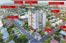 Hot! Chỉ cần 500 triệu là sở hữu ngay căn hộ ngay vòng xoay Phú Lâm, Quận 6. Ngân hàng cho vay 70%