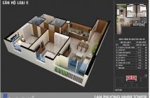 Chính chủ bán căn hộ Lan Phương, đã có sổ hồng vĩnh viễn, giá 1,55 tỷ/căn 2PN