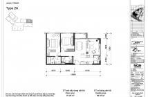 Bán căn hộ 2 phòng ngủ H-16.08, tháp Hawaii, Đảo Kim Cương, view hồ bơi, giá bán 5.1 tỷ (VAT + PBT)