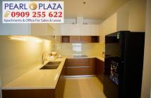 Chỉ với 17,5 triệu/tháng_thuê ngay căn hộ tại trung tâm Bình Thạnh Pearl Plaza. Hotline 0909 255 622