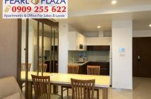 Cho thuê căn hộ 2PN giá tốt tại Pearl Plaza, nội thất Châu Âu. Hotline PKD CĐT 0909 255 622