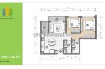 Cần bán hoàn vốn căn hộ chung cư Palm Heights tháp T3 85m2 2PN