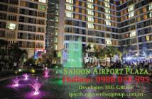 PKD SSG Group bán CH 1PN, có nội thất, DT 57m2 Sài Gòn Airport Plaza giá tốt nhất dự án 0908 078995