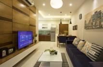 Cho thuê căn hộ Sacomreal 584, DT 82m2, 2PN, 2WC, đầy đủ nội thất, giá 9tr/tháng