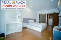 Bán CH góc 3PN - 123m2 tại Pearl Plaza cần bán tầng cao, có HĐ thuê giá cao. Hotline CĐT 0909 255 622