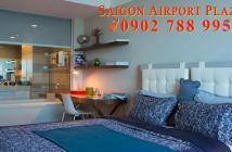 Sở hữu ngay CH 1PN Saigon Airport Plaza, dt 57m2, đủ nt, giá tốt nhất – Hotline PKD 0908 078 995
